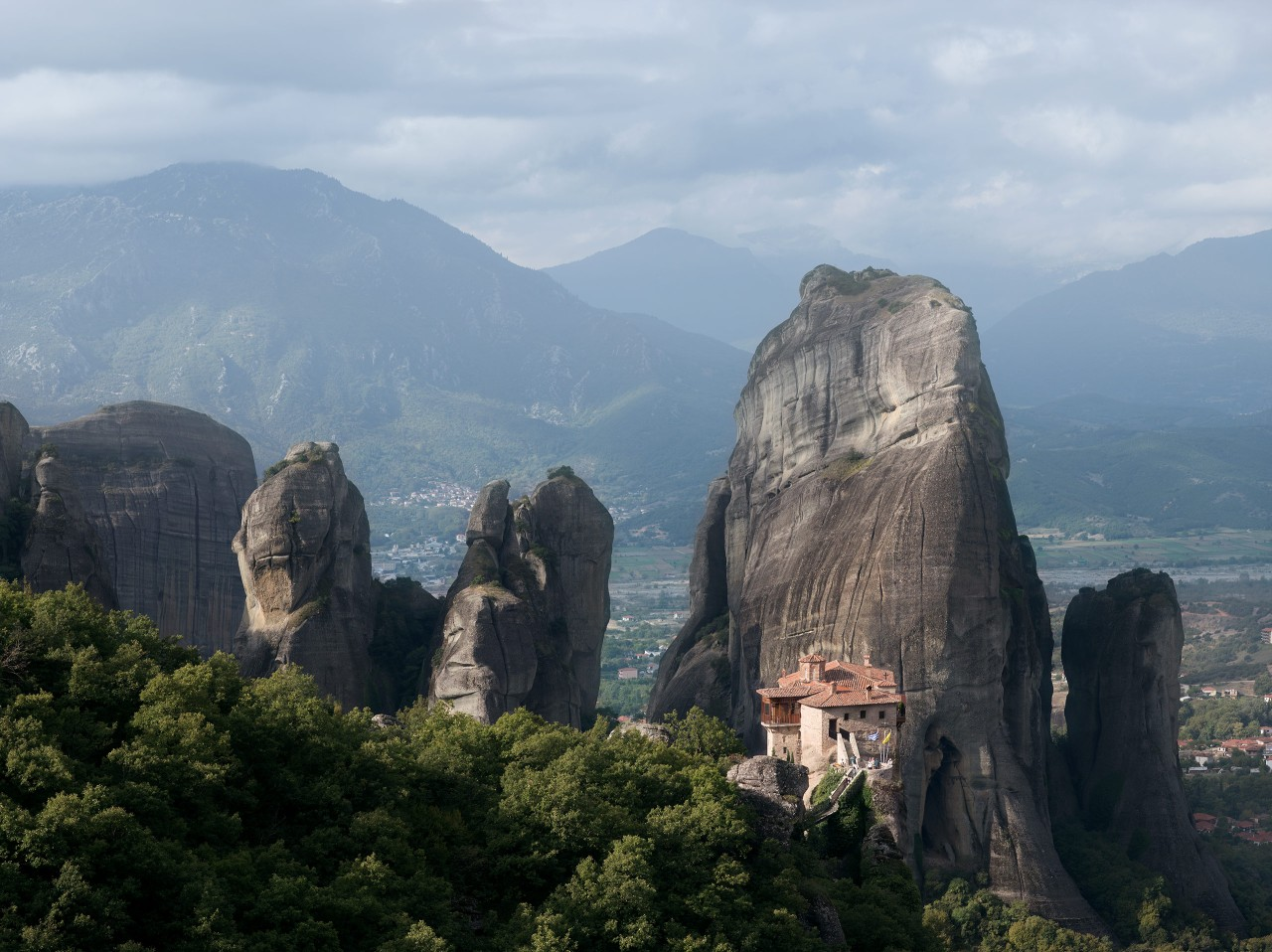 Meteora, Roussanou Monastery, Greece - Eva Avril photographie